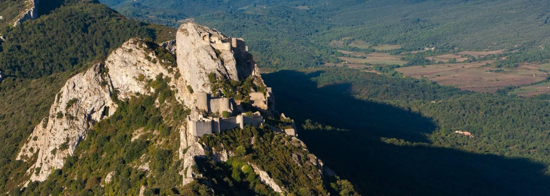 Die Burg Peyrepertuse