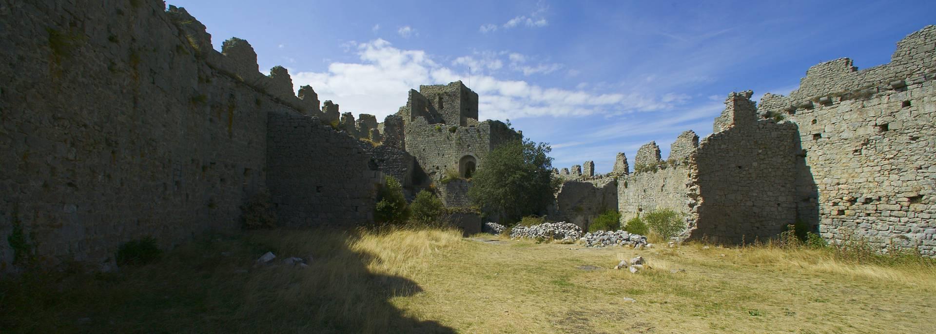Le château de Puilaurens