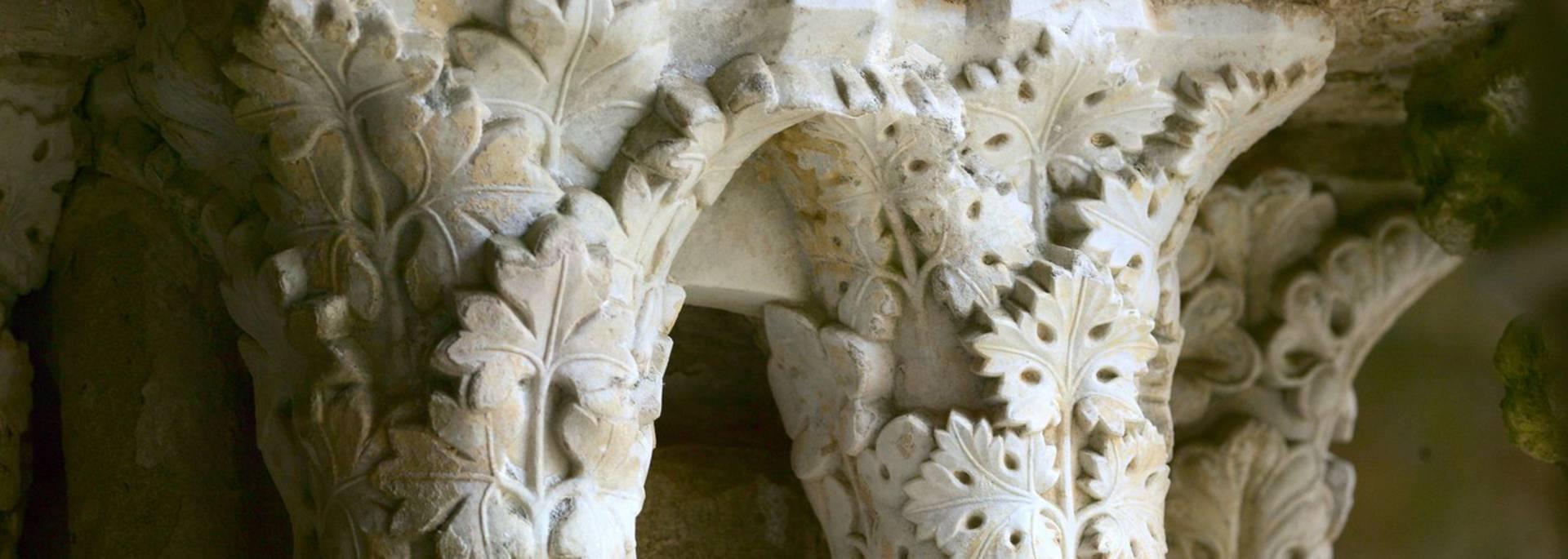 Abbaye de Fontfroide, chapiteaux