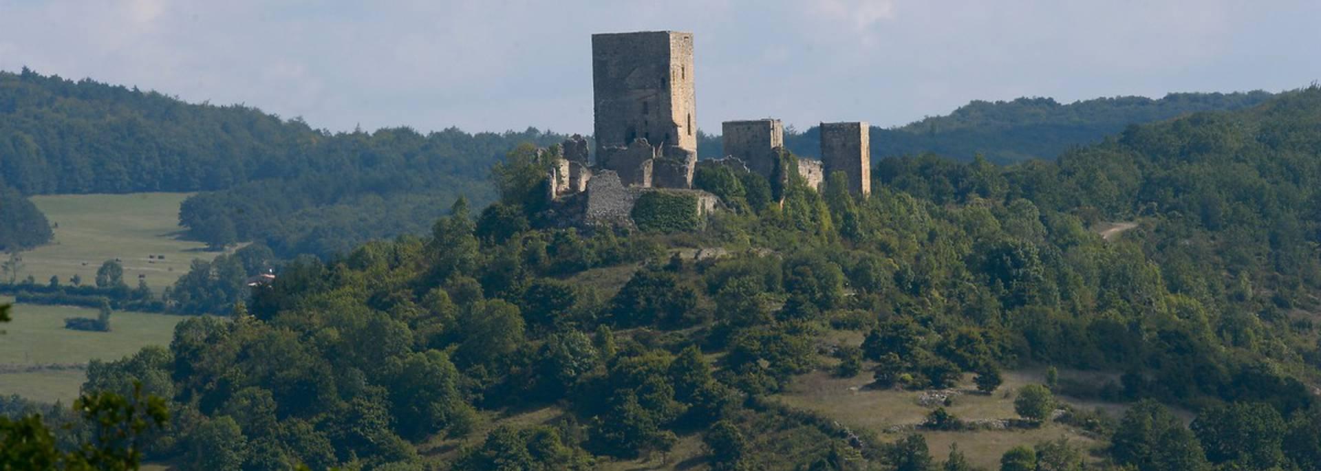 Die Burg von Puivert
