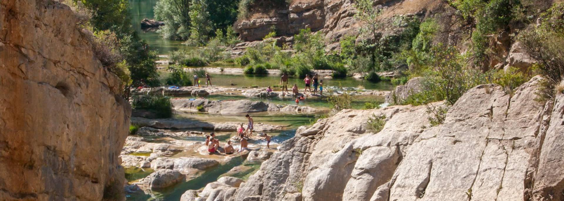 Die Wasserfälle von Verdouble