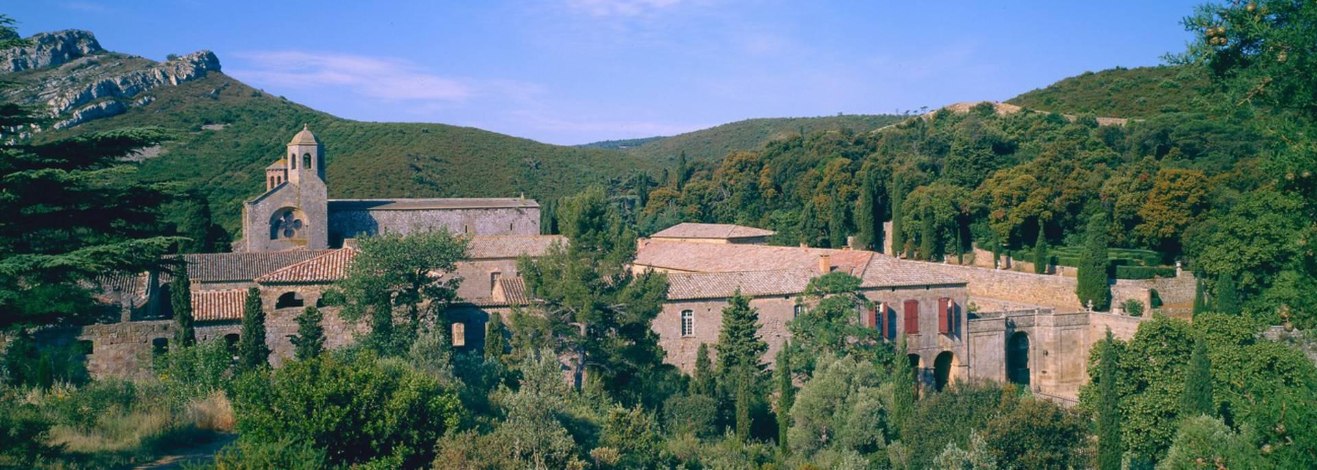 Vue générale de l'abbaye de Fontfroide