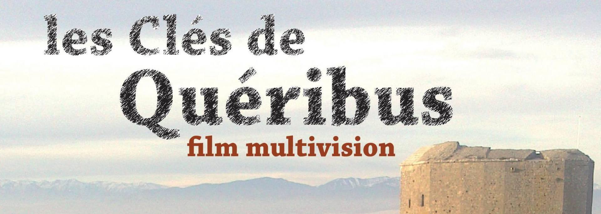 """Affiche du spectacle """"Les clés de Quéribus"""" au Théâtre Achille Mir"""
