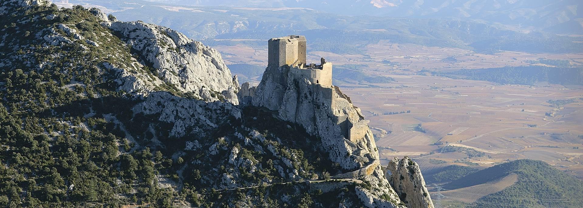 Die Burg Queribus