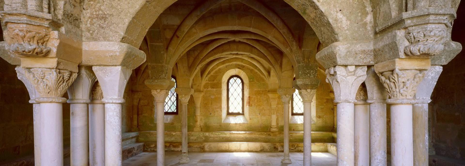 Abbaye de Fontfroide, salle capitulaire