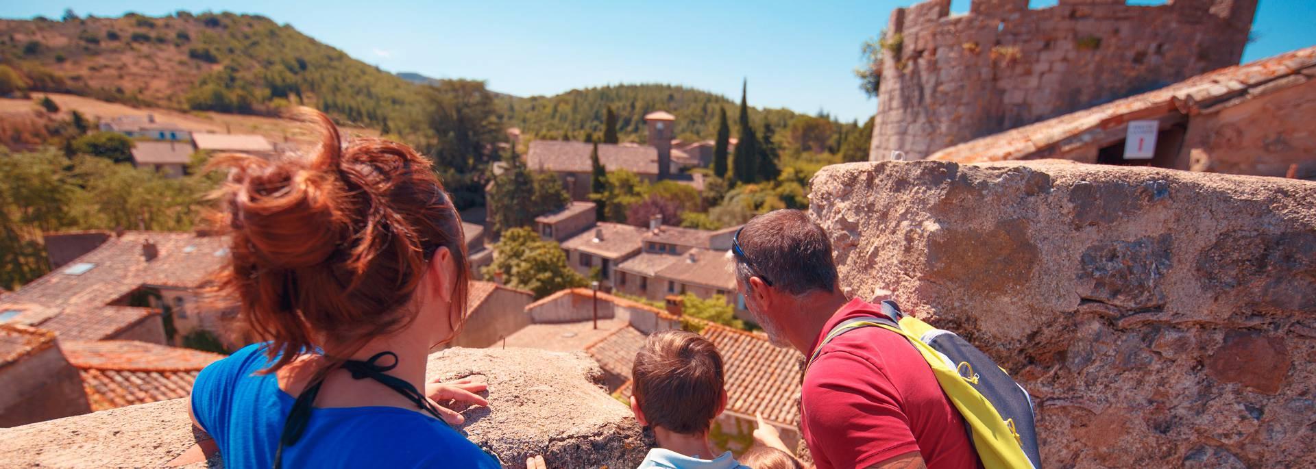 Visite du château de Villerouge-Termenès