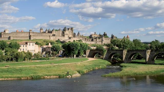 Die Ufer der Aude
