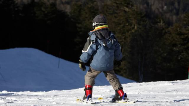 Natur pur im Skigebiet