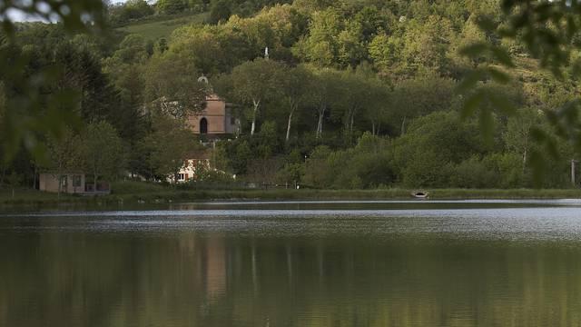 Der See von Puivert