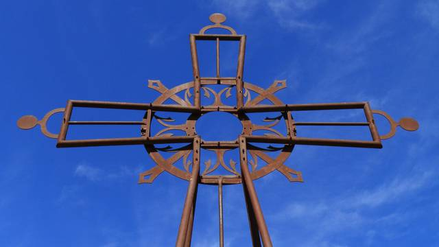 Das Kreuz von Fontfroide