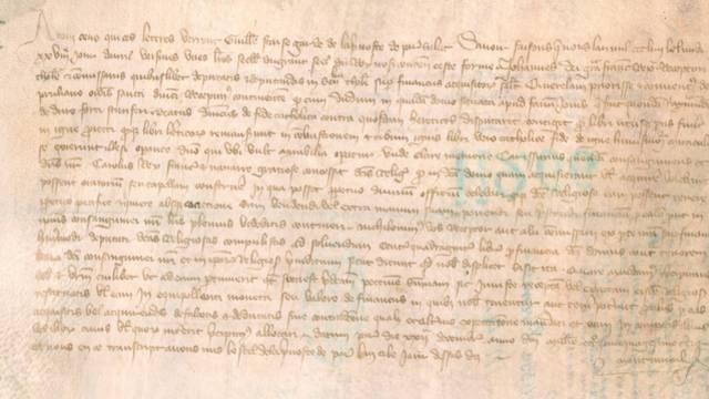 Confirmation au couvent de Prouilhe des privilèges relatifs à la maison du miracle du feu à Fanjeaux