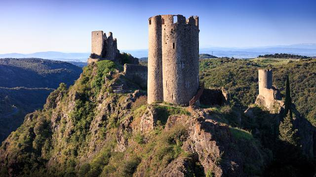 Die Burg Lastours