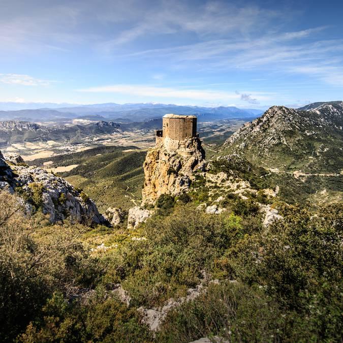 le château de Quéribus©vincentphotographie