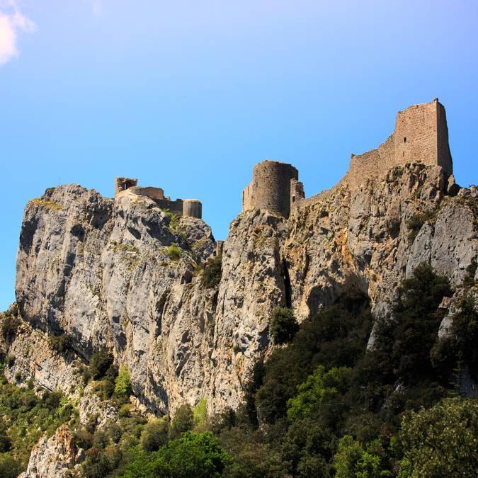 Le château de Peyrepertuse©vincentphotographie