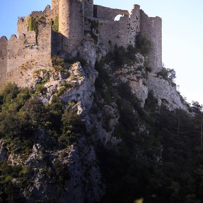 le château de Puilaurens©vincentphotographie