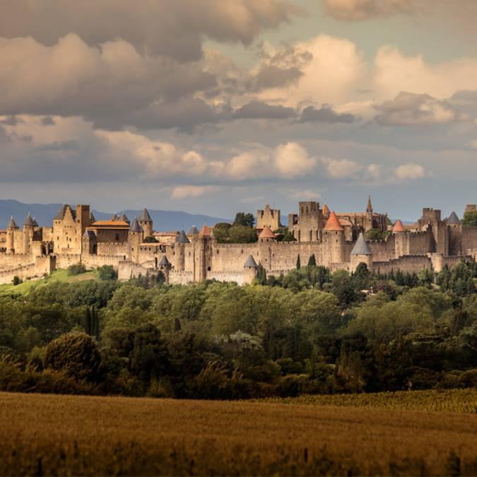 Visite de la cité de Carcassonne ©Vincent Photographie