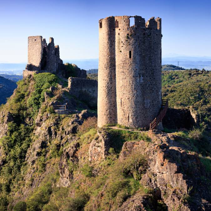 Visite des châteaux de Lastours ©Vincent Photographie