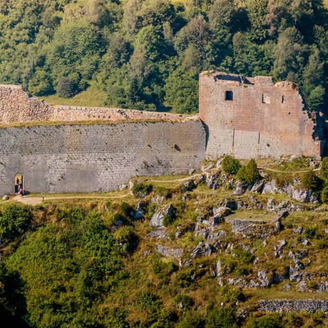 Visite du château de Montségur ©Vincent Photographie