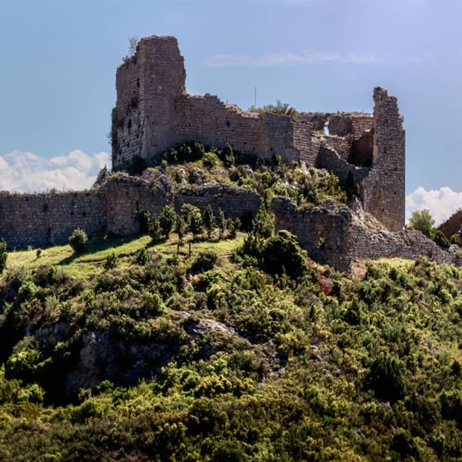 Visite du château d'Aguilar ©Vincent Photographie