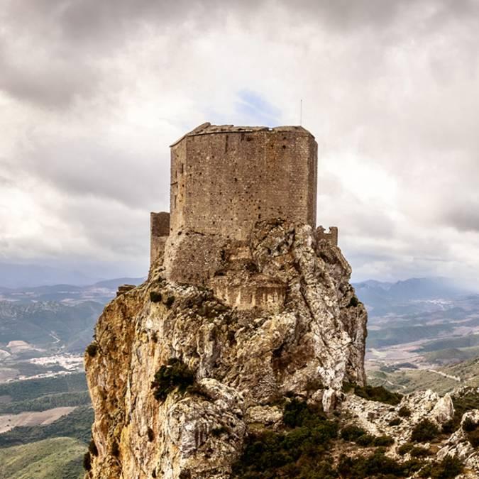 Visite du château de Queribus ©Vincent Photographie