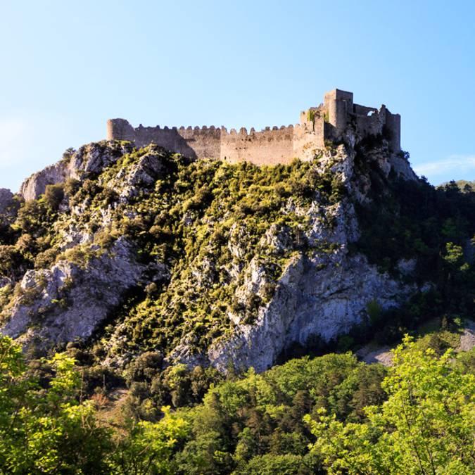 Visite du château de Puilaurens ©Vincent Photographie