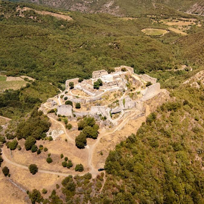Visite du château de Termes ©Vincent Photographie