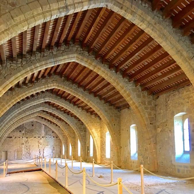 Abbaye de Lagrasse-dortoir des moines