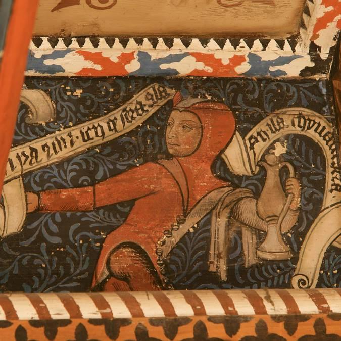 Abbaye de Saint-Hilaire-Plafonds peints
