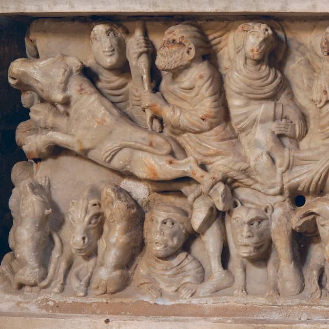 Autel reliquaire de saint Saturnin par le Maître de Cabestany