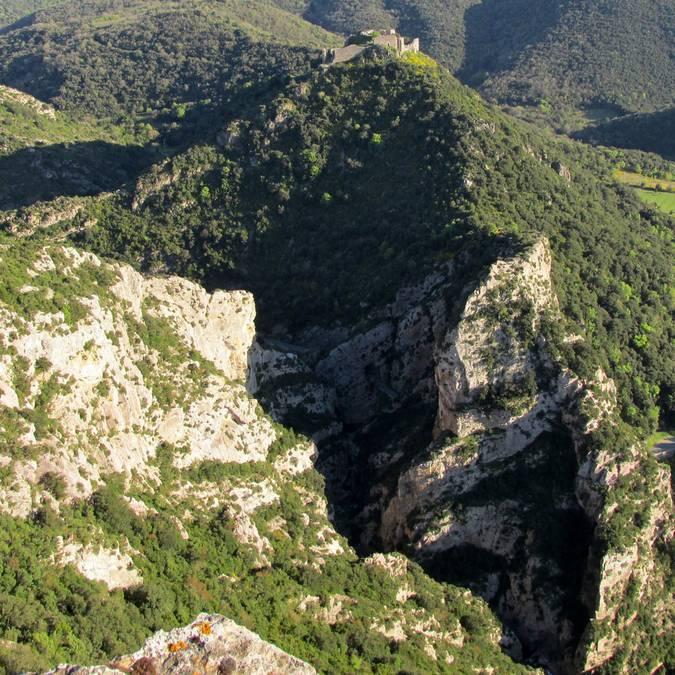 Château de Termes gorges de Coynepont