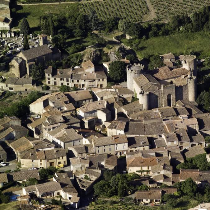 Château et village de Villerouge-Termenès