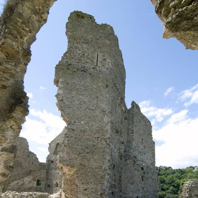 Donjon château de Saissac