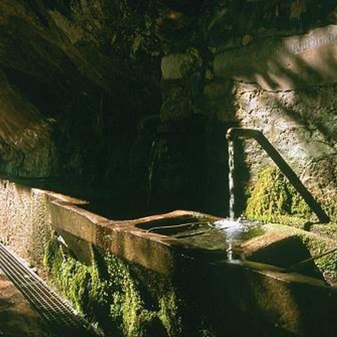 La fontaine du village de Duilhac-sous-Peyrepertuse