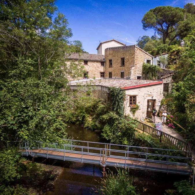 Le moulin de Brousses et Villaret