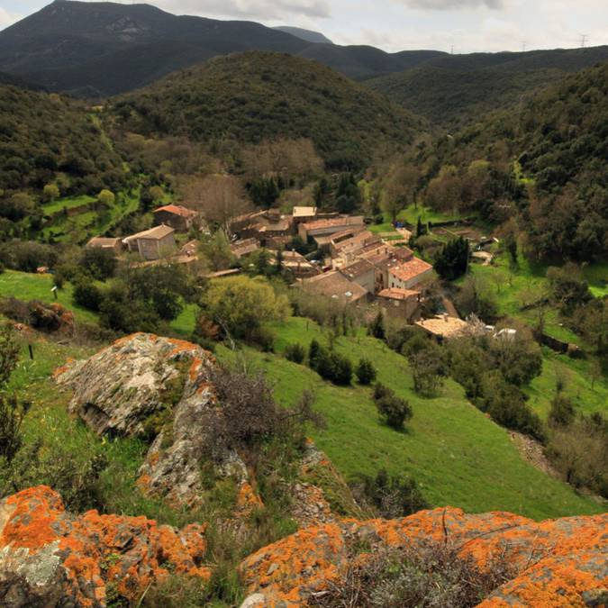 Le petit village de Palairac