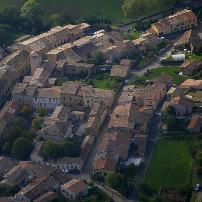 Le village d'Arques