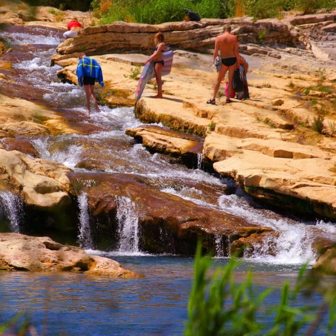 Les cascades de Ribaute