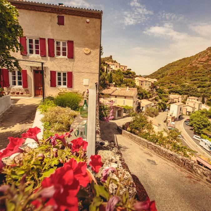 Village de Lastours