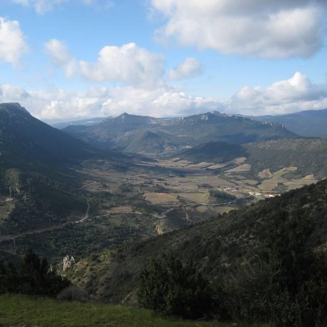 Paysage des Corbières sauvages