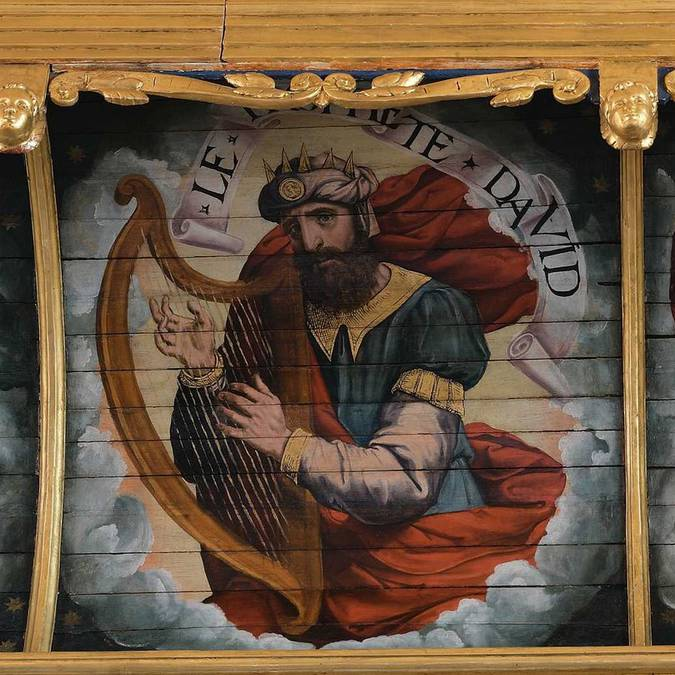 Retable de l'église Saint-Etienne