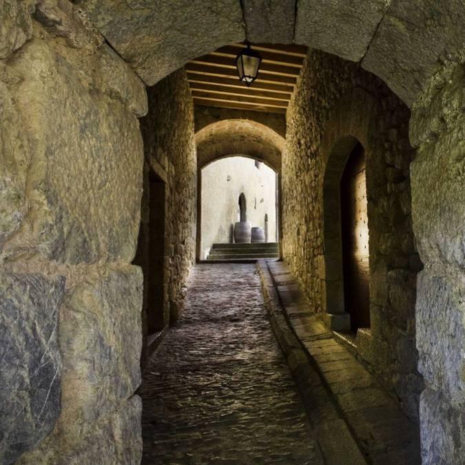 Ruelle médiévale à Villerouge-Termenès