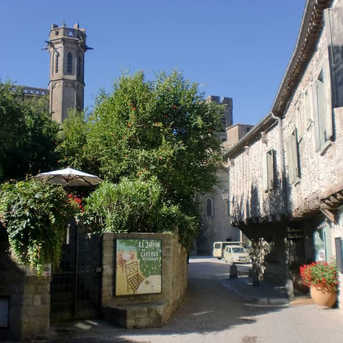 Ruelles au coeur de la Cité de Carcassonne