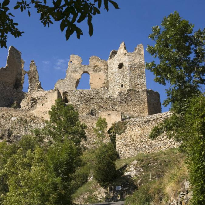 Le château d'Usson