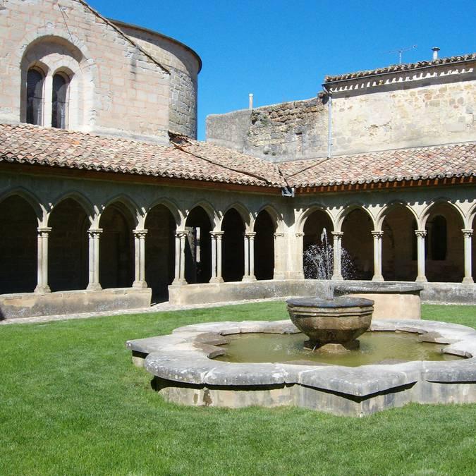 Die Abtei Saint-Hilaire