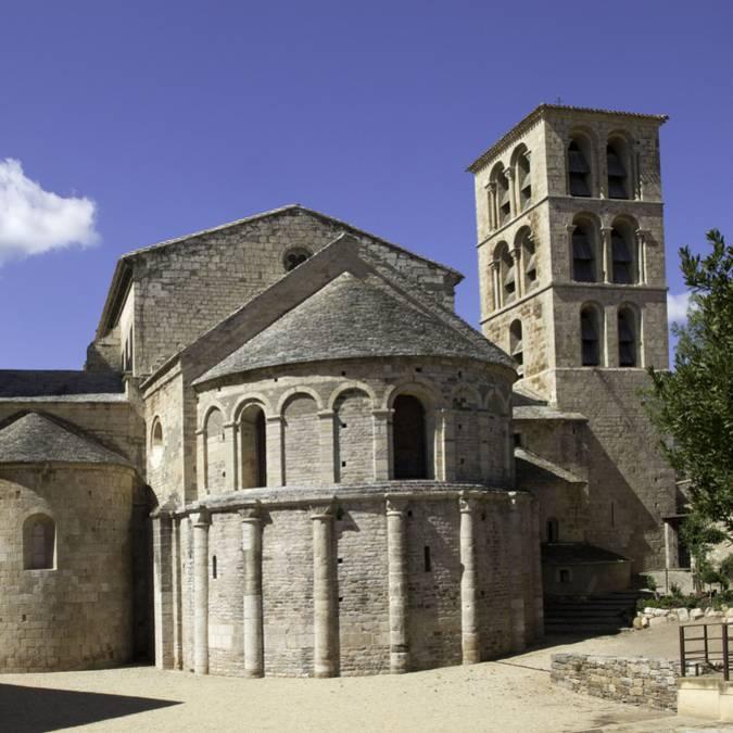 Die Abtei Caunes-Minervois