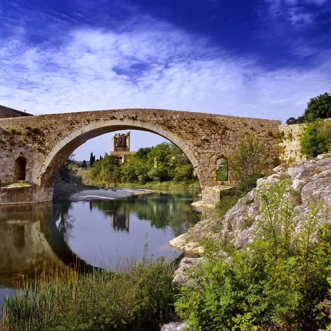 Dorf von Lagrasse