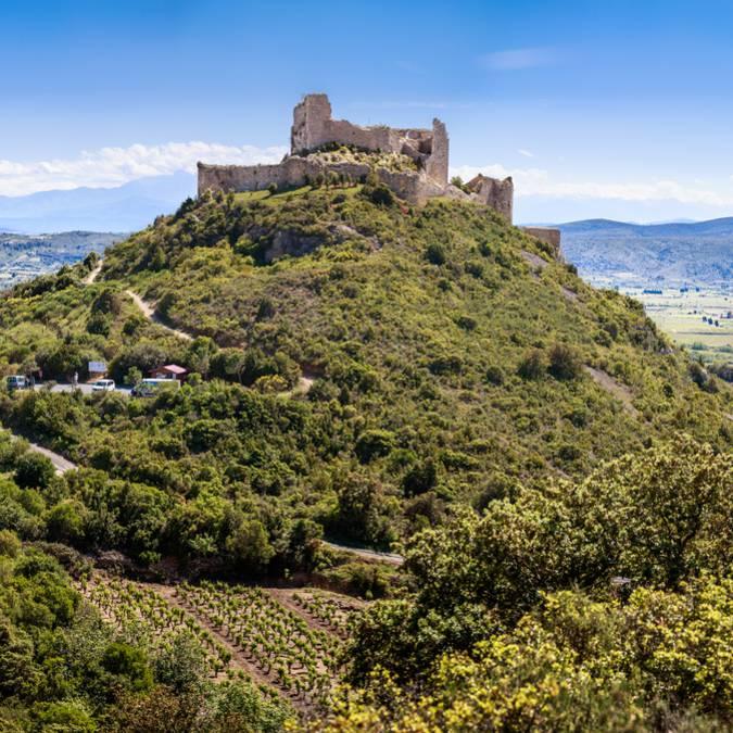 Die Burg Aguilar