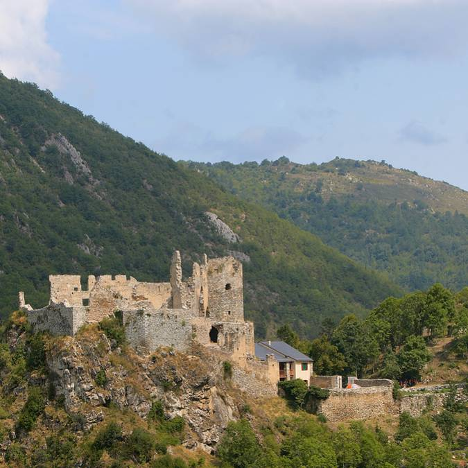 Die Burg Usson