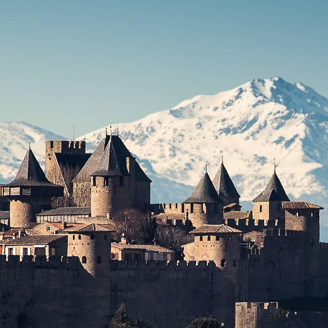 Castillo y Murallas de la Ciudadela de Carcassonne
